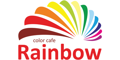 Rainbow Color Cafe Logo
