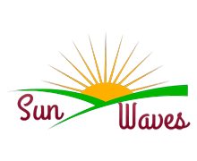 Sun Waves Logaster Logo