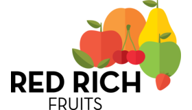 Red Rich Fruits Logo