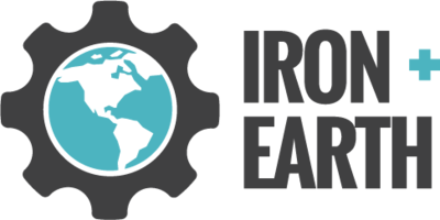 Iron Plus Earth Logo