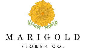 Marigold Flower Co Logo
