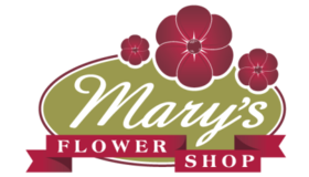 Marys Flower Shop Logo