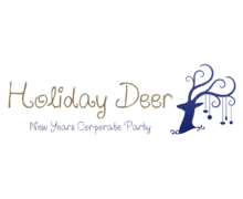 Holiday Deer Logaster Logo