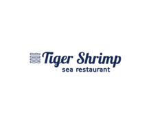 Tiger Shrimp Logaster Logo