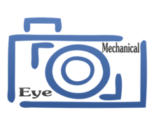 Mechanical Eye Logaster Logo