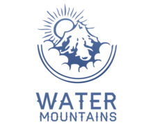 Water Mountains Logaster Logo