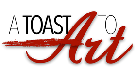 A-toast to Art Logo