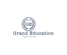 Grand Education Logaster Logo
