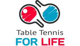 Table Tennis For Life Logo