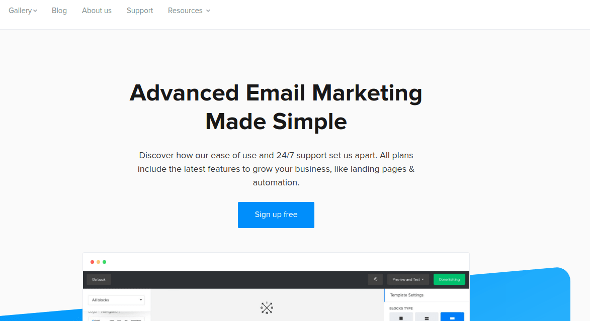 Top 9 Email Marketing Services in 2019 | Logaster