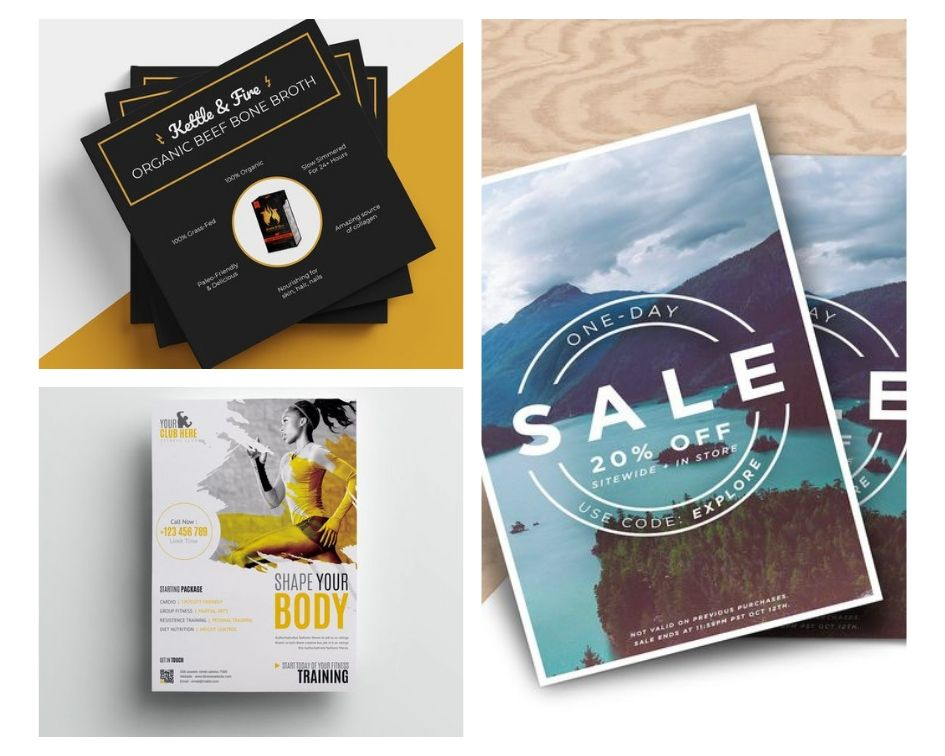 5 tips to create a flyer online with great selling