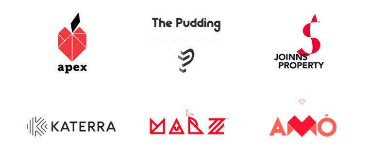 Xu hướng thiết kế logo 2020 - nguồn ảnh: Logaster