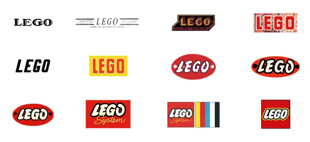 From Black to Red: History of LEGO Logo | Logaster