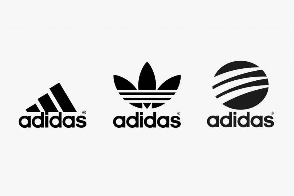 Evolution of the Adidas logo
