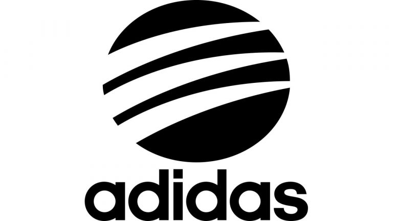 the circle logo of Adidas