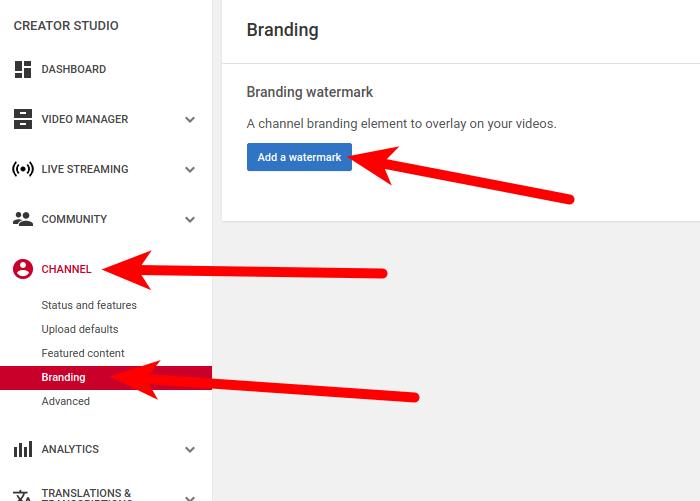 Add channel logo
