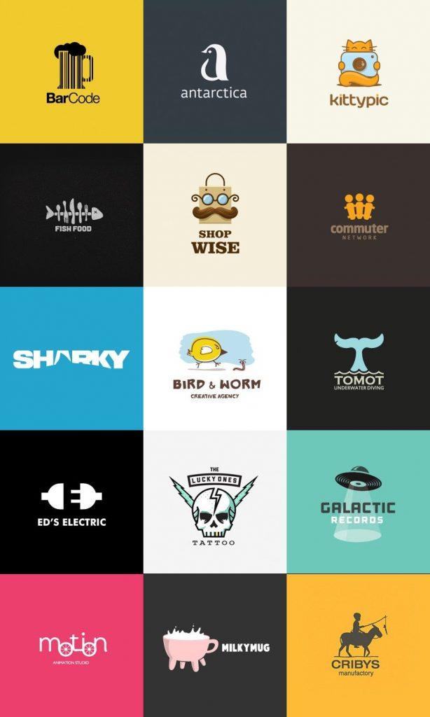 Contoh Desain Kreatif Dan Kunci Untuk Logo Yang Berhasil Logaster