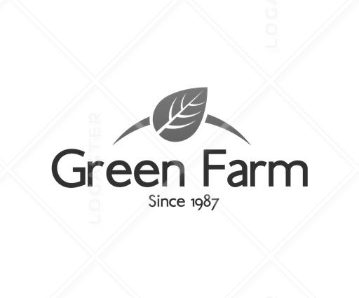 Green Farm - Public Logos Gallery - Logaster